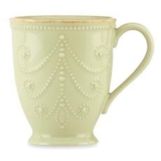 Lenox® French Perle Pistachio 10-Ounce Mug