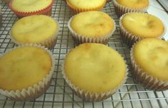 Mochiko cupcakes - I'm intrigued by the option of adding an (sweetened red bean)