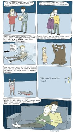 Black Death - as weird as this is... it's actually really cute. Haha.