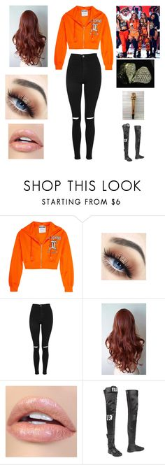 """""""Kid's Choice Awards"""" by andreaosorio16012 on Polyvore featuring moda, Moschino, Topshop y Puma"""