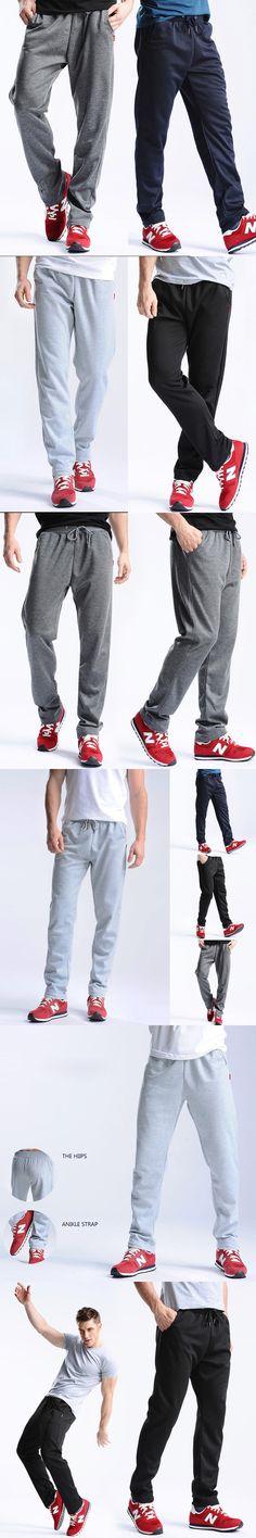 2017 New Arrival Men's Trousers Men's Casual Pure Color Slim Men's Fashion Long Pants
