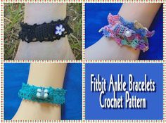 Fitbit Ankle Bracelets Crochet Pattern:Amazon:Kindle Store