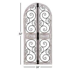de4536c7a6 THREE HANDS Brown Wood/Metal Wall Decor | Products | Metal wall decor, Wall  decor, Metal walls