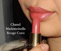 Chanel Mademoiselle Lipstick- best color lipstick and Chanel lipstick is the best...definitely worth the splurge!