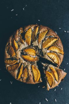 Lavender and apricot cake
