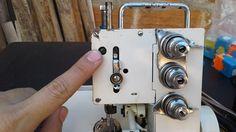 Ajuste de barra de aguja de la overlock casera