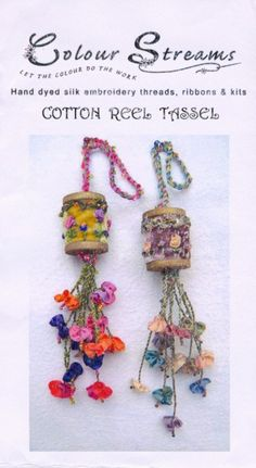 Cotton Reel Tassel Kit