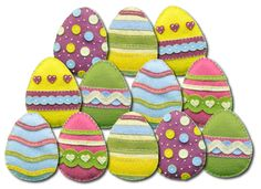 Lumenaris | Products | Wool Felt | Felt Kits | Ornaments | Easter Ornaments