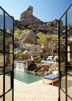 outdoor pool & view, multi-level