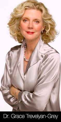 Blythe Danner as Dr. Grace Trevelyan...  #FiftyShades @50ShadesSource www.facebook.com/FiftyShadesSource