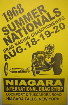 1968 Summer Nationals Poster