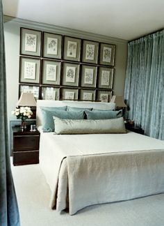 bedroom by mcalpine tankersley I need a long lumbar pillow for my master bedroom, love this look KS