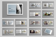 Indesign Portfolio Brochure-V419 by Template Shop on @creativemarket