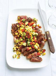 Ricardo& recipe : Minute Steak and Avocado Salad Vegetable Recipes, Beef Recipes, Cooking Recipes, Healthy Recipes, Cooking Ideas, Easy Recipes, Minute Steaks, Confort Food, Ricardo Recipe