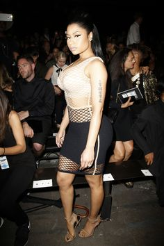 Alexander Wang Spring 2016 Ready-to-Wear Front Row Celebrity Photos - Vogue