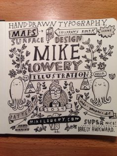 Typography by mike lowery sketchbook
