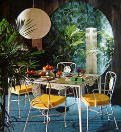 Vintage 1968 Mod Interior Design Book