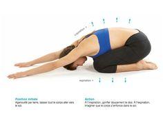 La position de l'enfant pour se relaxer - 8 exercices pour lutter contre le mal de dos - Femme Actuelle