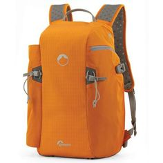 Lowepro Flipside Sport 15L AW Backpack, Orange / Light Gray