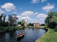 Hunsett Mill, Norfolk Set on the banks of a bend in the River Ant, part of the Norfolk Broads in East Anglia, is Hunsett Mill, a beautiful millkeeper's cottage sensitively restored and extended to provide a stunning 5-bedroom property.