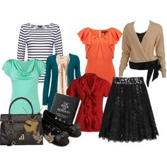 A fashion look from July 2013 featuring ribbon shirt, shirt top and rayon tops. Browse and shop related looks. Church Outfits, Outfits For Teens, Cute Outfits, Modest Fashion, Girl Fashion, Travel Fashion, Sister Missionaries, Missionary Mom, Harajuku Fashion