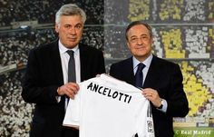Carlo Ancelotti appointed manager of Real Madrid,June Carlo Ancelotti, C Real, Real Madrid Football Club, Uefa Super Cup, Santiago Bernabeu, Soccer Match, Professional Football, Uefa Champions League, Arsenal