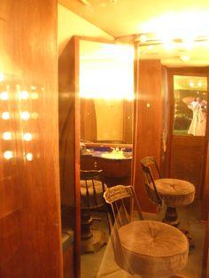 "Elvis's dressing room on the ""Lisa Marie"" @ Graceland, Memphis, Tennessee"