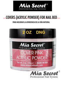 Mia Secret Polvo De Acrílico Cubierta De 2 Oz Rosa Para Uñas De Cama Hechos En Usa   Belleza y salud, Cuidado de uñas, Accesorios para decorar uñas   eBay!