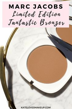 LIMITED EDITION MARC JACOBS BRONZER | Kate Loves Makeup read a beauty blogger's review of this new bronzer in the shade tantastic from Marc Jacobs Beauty #beautyblogger #MarcJacobsBeauty #TantasticBronzer #NewMakeup