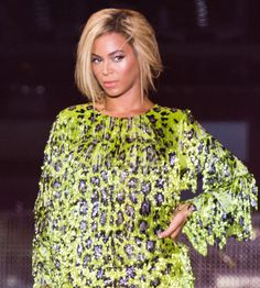 Famous Actress,Dancer, Former Destiny's Child Pop And R Music Girl-Group,Model,Mommy,Singer Beyonce Carter-Knowles At Her Mrs Carter World Tour.