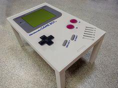 Nintendo Gameboy Coffee Table | ProbestDESIGN - on ArtFire