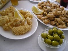 Fried fish, worldwide popular but you've never tried it if you haven't eaten in Andalusia!