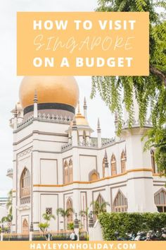 How to visit Singapore on a budget. This guide includes free things to do in Singapore, cheap Singapore accommodation and my top budget travel tips. Singapore Things To Do, Singapore Travel Tips, Singapore Singapore, Free Things To Do, Cheap Things, Asia Travel, Solo Travel, Travel Usa, Singapore Attractions