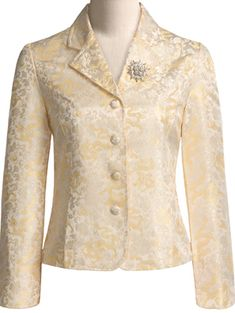 womens brocade silk jacket Buy Silk Brocade Fabric: https://www.etsy.com/shop/Indianlacesandfabric?section_id=16883040&ref=shopsection_leftnav_2