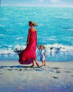 On the Beach by Dima Dmitriev