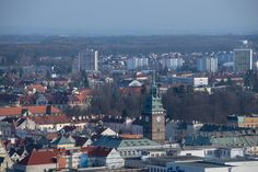 Pardubice jak je neznáte. Podívejte se na město z telefonní ústředny | Pardubice Paris Skyline, Lab, Travel, Cinema, Viajes, Labs, Destinations, Traveling, Trips