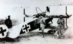 The Red Baron died in his distinctive Fokker triplane, pictured, when he was shot down over France in 1918