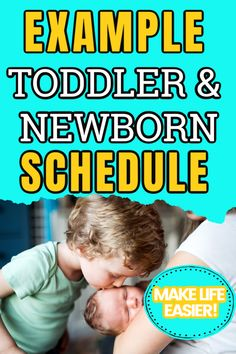 How to Manage a Toddler and a Newborn: Helping Older Siblings Cope with the New Baby Indoor Activities For Toddlers, Toddler Learning Activities, Infant Activities, Newborn Schedule, Toddler Schedule, Toddler Playroom, Toddler Fun, Toddler Milestones, Best Baby Toys