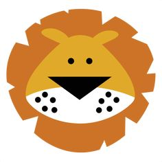 This would even be cute as an applique on a quilt! Lion svg file for scrapbooking free svgs free svg cut files cute svg cuts cute cutting files for scrapbooking Lion Cartoon Drawing, Cartoon Lion, Cartoon Drawings, Lion Clipart, Cute Clipart, Cute Lion, Dibujos Cute, Safari Party, Animal Faces