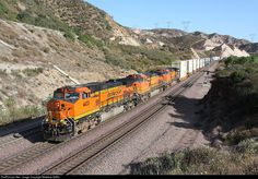 RailPictures.Net Photo: BNSF 4433 BNSF Railway GE C44-9W (Dash 9-44CW) at Cajon Pass, California by Matthew Griffin