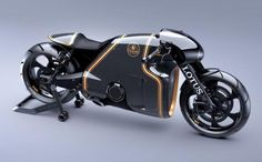 """""""Designer Daniel Simon turns his unique aesthetic to the issue of creating a real motorcycle, the C-01 for Lotus."""""""