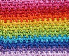 moss stitch crochet