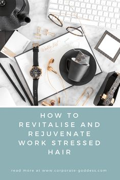 How To Revitalise and Rejuvenate Work Stressed Hair - simple, inexpensive remedies, repair and treatment for work stressed hair Burnout Recovery, Job Burnout, Essential Oils For Headaches, Essential Oils For Sleep, Work Stress, Stress And Anxiety, Oils For Energy, Hair Simple, How To Increase Energy
