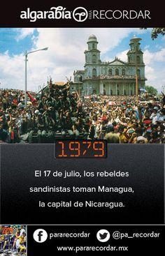 Un día como hoy de 1979 los rebeldes sandinistas toman la capital de Nicaragua. (vía @pa_recordar)