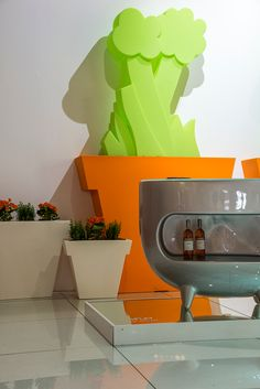Splay, designed by Karim Rashid for Slide - Distributed by DzineElements.com  #Splay, #Slide, #KarimRashid, #DzineElements, #design, #italiandesign, #bar, #interiordesign, #interiorinsiration,