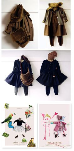oona l'ourse clothing for kids in Paris via [ simplesong ]