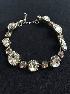 Sorrelli Bracelet Delicate Pink And Clear Swarovski Crystals New Nwt Http Elegant