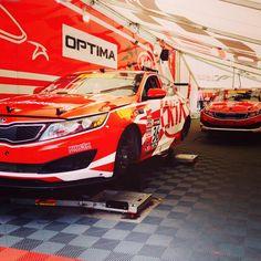 Kia Racing Optimas is always ready Kia Motors, Kia Optima, Racing, America, Running, Auto Racing, Usa