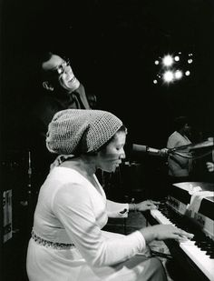 Aretha Franklin and Ray Charles. 1971.