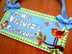 Show your classroom spirit by making classroom themed decorations. | 24 Awesomely Thoughtful Gifts For Teachers